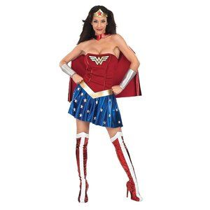 NEW Secret Wishes Deluxe Wonder Woman Costume